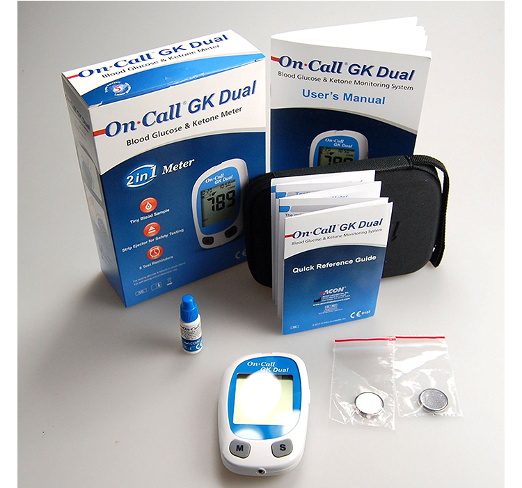 On Call GK Dual Function Meter for Blood Ketone & Glucose Price in Pakistan